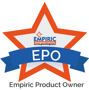 , Empiric Product Owner, Empiric Management Solutions, Empiric Management Solutions